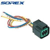 6ピンコネクター 配線パーツ 灯火類コネクター SOREX 純正 ソレックス ST-013の画像