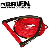 ウエイクボード ハンドル ラインセット POLY WAKE COMBO 70ft 4セクション 37415 ボート 水上スキー 初心者 ビギナー OBRIEN オブライアンの画像