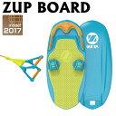 ZUP BOARD2 ザップボード2 【 ボード&ハンドルライン 2点セット 】 バナナボート ウエイクボード サーフ 39004 ニューモデル 【送料指定品】