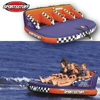 【プレゼント付】スポーツスタッフ BETTY ベティ 4名 ゴムボート 37032 sportsstuff バナナボート トーイング チューブ WATERTOY 水上バイク ボートの画像