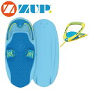 ZUP Board ザップ SILVER ボード&ハンドルラインセット 40830 バナナボート ウエイクボード サーフ トーイング