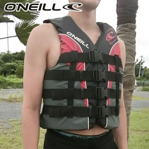 【SALE】オニール ナイロンコーストガードベスト WB-1240 水上バイク ライフジャケット ジェットスキー 救命胴衣 oneill ウエイクボード SUP