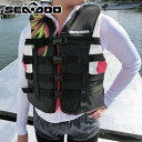 ライフジャケット 女性用 JCI予備検査承認 ナイロン 正規品 水上バイク 救命胴衣 ウイメンズSEA DOO MOTION 救命胴衣