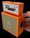 ■ミニチュア楽器 Axe Heaven Orange ROCKER 30 Stack Amp Model OA-AMP-2