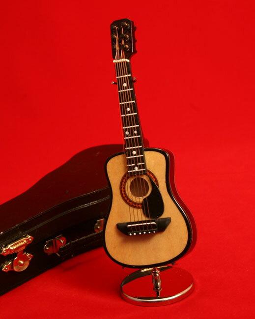 ミニチュア楽器フォークギター15cm
