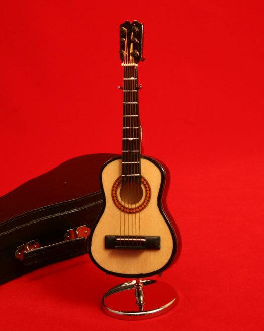 ミニチュア楽器クラシックギター25cm