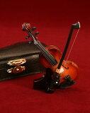■ミニチュア楽器 バイオリン 9cm