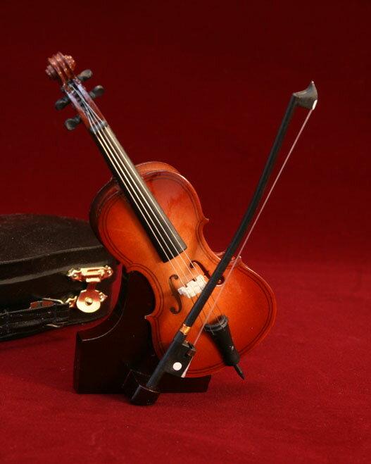ミニチュア楽器チェロ9cm