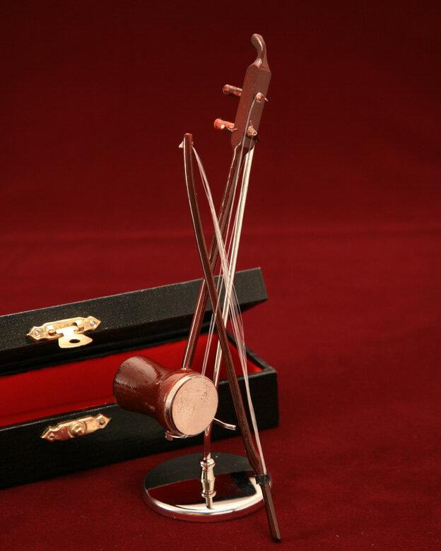 ■ミニチュア楽器 二胡 14cm...:auc-just-on:10000057