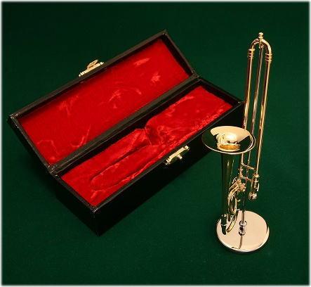 ミニチュア楽器 トロンボーン 1/6サイズ...:auc-just-on:10000007