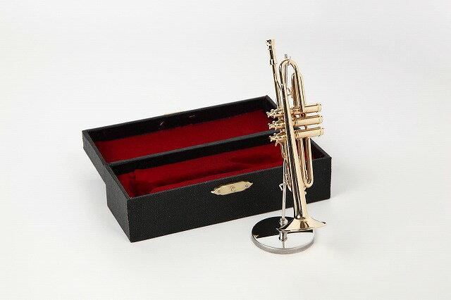 ミニチュア楽器トランペット1/6サイズ