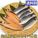 【数量限定】天塩干し サバ 約100gx8枚セット♪晩ご飯のおかずに!鯖 サバ 干物【同梱にオススメ】お試しセット おためしセット 魚 セット 冷凍
