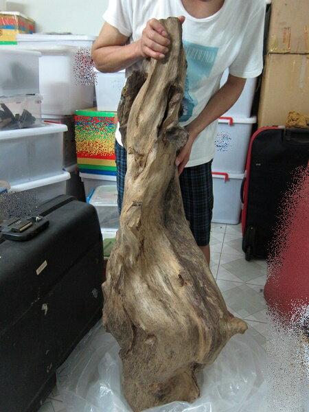 約28kg巨大天然沈香大木/香木アロマの最高峰...の紹介画像2