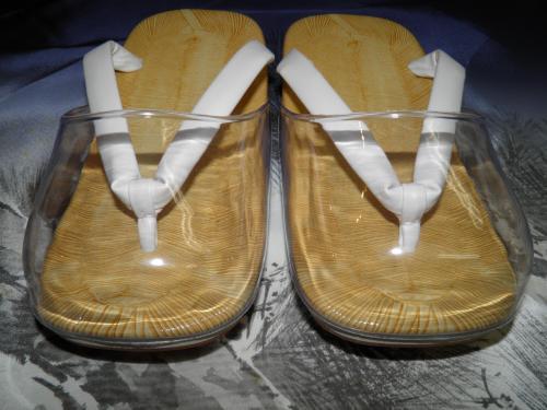 【22】「男性用 時雨履き(爪皮つき)雪駄」白鼻...の商品画像