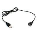 [5V LEDテープライト専用] USB 2.0 延長ケーブル 1m [1本]