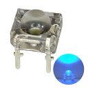 Kaito3226(500個) LED FLUX 5mm 青色 1200〜1500mcd
