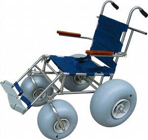 ランディーズFC(フロントキャスター)車椅子オフロード砂浜走行ガタガタ道も!海へ山へ大活躍!