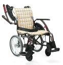 カワムラサイクル 車椅子 WAVIT+ ウェイビットプラス WAP16-40(42)S/A 次世代型標準車いす 介助用 多機能モデル スイングアウト 跳ね上げ ...