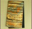 服部 袋帯 正絹 24k 純金