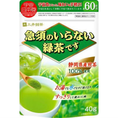 ●三井銘茶 急須のいらない緑茶です 40g袋■c24の商品画像