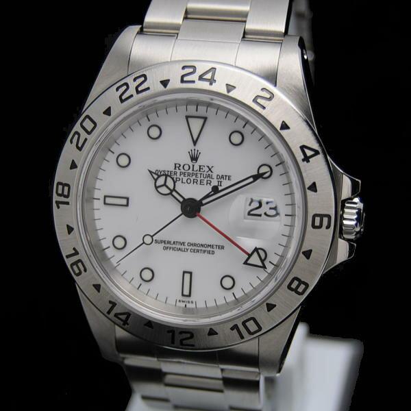 ◎ロレックス ROLEX◎ メンズ時計/エクスプローラー2/EX2/16570/SS/白 【RO357】【税込価格】【質屋出店】【】【対応】