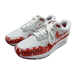 ◆ナイキ NIKE◆ 靴/スニーカー/エアマックス1/スケッチトゥシェルフ/ホワイト×ユニバーシティレッド/28cm/CJ4286-101