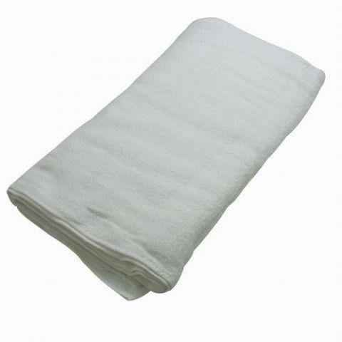 業務用 綿フェイスタオル 薄手 ホワイト 綿タオル 32cm×78cm  cotton 100% コットンタオル