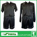 フィンタ【FinTA】レフリー4点セット審判着半袖シャツ,長袖シャツ共通パンツ,ストッキング