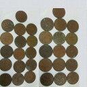【中古】本物昭和大正の1銭硬貨計32枚
