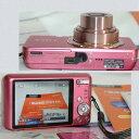 【中古】完動美品ソニーの1610万画素のデジタルカメラDSC-630W可愛いピンク色 1ヶ月保障付