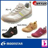 高齢者 靴 ムーンスター ワールドマーチ 婦人 レディース ウォーキング WL3555【送料無料】