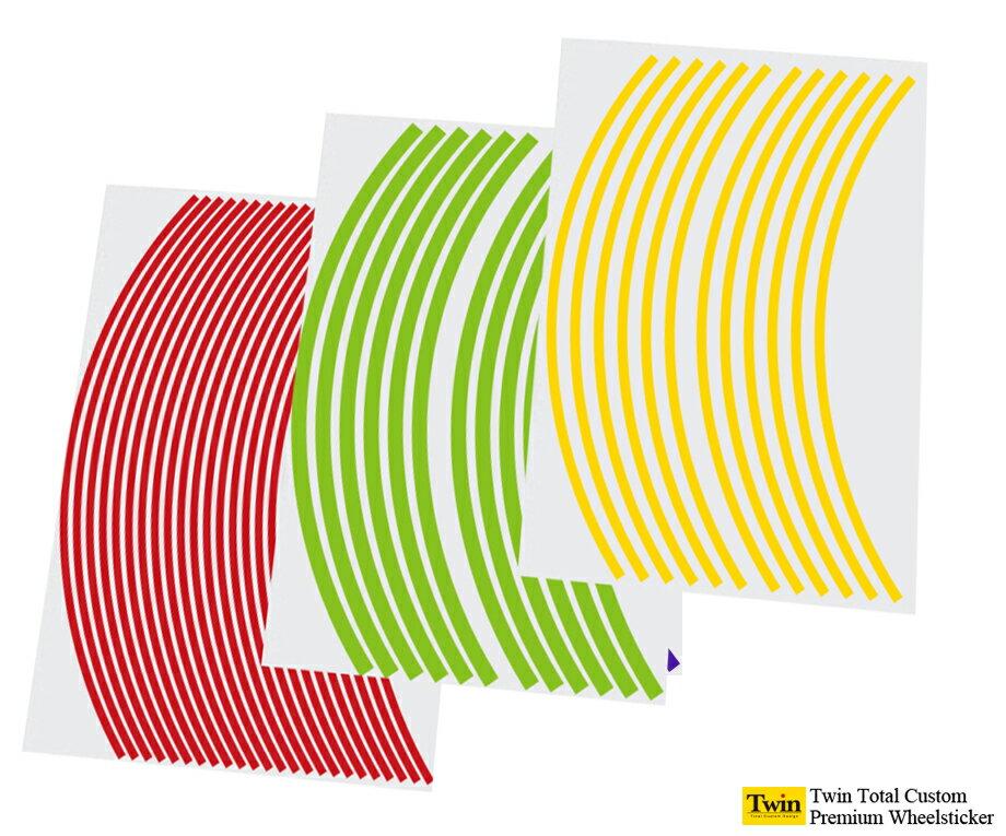 UV加工ホイールステッカー(スタンダードタイプ)...の商品画像
