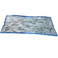 【送料無料】コンパクトアルミ寝袋 2枚セット【a-1270】の画像