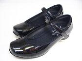【送料無料】ヨネックス ウォーキングシューズ パンプス レディース靴【LC67 LC-67 エナメルブラック】パワークッション パンプススタイルYONEX【お取り寄せ】 【はこぽす対応商品】 02P18Jun16