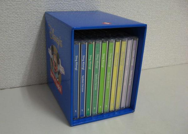 【新着】◆シングアロングCD 全10枚【〜2005年】◆ディズニー英語システム【中古】ワールドファミリー DWE 英語教材 幼児教材 子供教材 知育教材