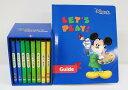 【新着】◆レッツプレイDVD全8巻◆ ディズニー英語システム 【中古】ワールドファミリー DWE 英語教材 幼児教材 子供教材 知育教材