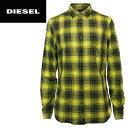 ■DIESEL ディーゼル メンズ■チェック柄 タータンチェック オーバーチェック コットンシャツ