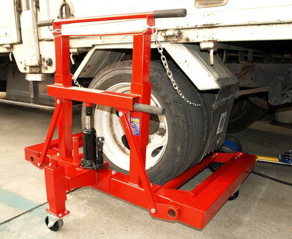 KIKAIYA トラックタイヤドーリー600Kg(個人様は西濃運輸営業所止め)