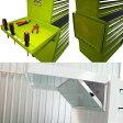 ショッピングキャビネット KIKAIYA ローラーキャビネット5段 専用サイドテーブル(折りたたみ式)