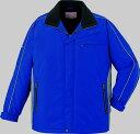 【軽量】 作業服 防寒ハーフコート 自重堂 jic48403 ロイヤルブルー 大きいサイズ 4L 5L