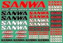 三和電子(サンワ) SANWAデカール(CLR) 品番90534A
