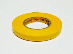 【ネコポス対応品】TOP LINE 3M マスキングテープ 6mm 幅×18m #BM-006