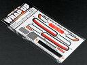 【ネコポス対応品】 WRAP-UP REAL 3Dディテールアップデカール【YOKOMO S13シルビア用】クリスタルテール 角目レンズVer. 0016-15