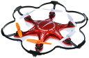 童友社 2.4GHz R/C DRONE6 MODE2 6枚羽マルチコプター ドローン6 レッド モード2の画像