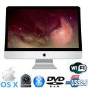 アップル超人気機種 21.5型 Apple製 iMac A1311 Intel Core i3-3.06GHz メモリ4GB HDD500GB マルチ WLAN内蔵 Webカメラ Bluetooth Mac ..
