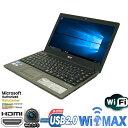 品一台限り 13.3型 Acer製 Aspire 3820-a52c Corei5 460M-2.53GHz メモリ4GB HDD320GB 無線LAN内蔵 MAR Windows10 Home 64bit済 プロダ..