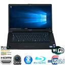 現品一台限り 16.4型ワイド Full HD (1920×1080) SONY製 VAIO Fシリーズ PCG-3J1N(VGN-FW94FS) Core2Duo T9900-3.06GHz メモリ4GB HDD250GB BD-RE WLAN内蔵 MAR Windows10 Home 64bit済 プロダクトキー付【HDMI、Webカメラ、Bluetooth,USB2.0】【中古】【ブラウン】