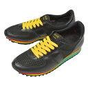Botana[ボタナ]レザースニーカー CASUAL RUN [BLK/RAINBOW SOLE]ク...