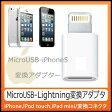 マイクロUSBライトニング変換アダプタ☆iPhone5 変換 アダプタ・iPad mini・iPad(第4世代)・iPod touch(第5世代)・iPod nano(第7世代)【メール便送料無料】