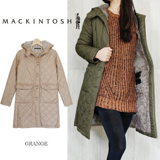2013-2014, Fall winter model! Free size color Exchange! MACKINTOSH Mackintosh GRANGE Grange ボアバージョン quilted coat jacket